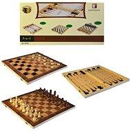Šachy 3v1 - Stolná hra