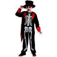 Šaty na karneval – kostra chlapec - Detský kostým