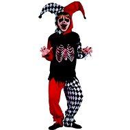 Šaty na karneval – šašo kostra - Detský kostým
