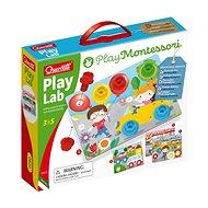 Quercetti Play Lab nuts & bolts boards – tabuľky so skrutkami a matičkami - Kreatívna súprava