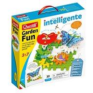 Quercetti Garden Fun Georello bugs & gears – pohyblivá stavebnica záhradky - Kreatívna súprava