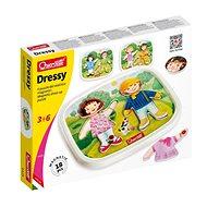 Quercetti Dressy Baby magnetic dress-up puzzle – magnetická skladačka - Kreatívna súprava