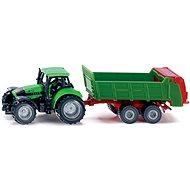Siku Blister - Traktor s univerzálnym obkladom - Kovový model