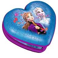 Ravensburger 3D 121205 Srdce Disney Ľadové kráľovstvo 2 - Puzzle
