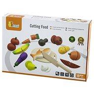 Drevené krájanie – potraviny - Drevená hračka