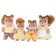 Sylvanian Families Rodina hnedých veveričiek - Figúrky