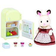 Sylvanian Families Nábytok chocolate králikov – mamka pri chladničke