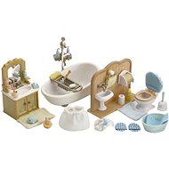 Sylvanian Families Vybavenie – kúpeľňa s toaletou - Herný set