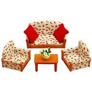Sylvanian Families Nábytok – sedacia súprava so stolčekom - Herná sada