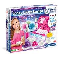 Clementoni Mýdla a bomby do koupele - Kreatívna súprava