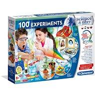 Clementoni 100 vedeckých experimentov - Kreatívna súprava