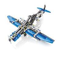 Clementoni Mechanické laboratórium – lietadlá a helikoptéry – 10 modelov - Kreatívna súprava