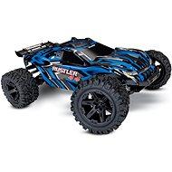 RC auto na diaľkové ovládanie Traxxas Rustler 1:10 4WD RTR modrý
