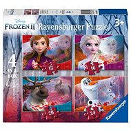 Ravensburgser 030194 Disney Ľadové kráľovstvo 2 4 v 1 - Puzzle