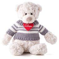 Lumpin Medveď Spencer vo svetri malý - Plyšová hračka