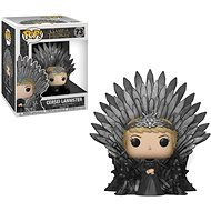 Funko POP Deluxe: Game of Thrones S10 – Cersei Lannister Sitting on Iron Throne - Figúrka