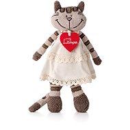 Lumpin Mačka Angelique v šatách - Plyšová hračka