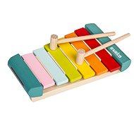 Drevená hračka Cubika 14033 Xylofon LKS-2 hudobný nástroj - Dřevěná hračka