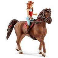 Figúrka Schleich 42514 Ryšavka Hannah a kôň Cayenne