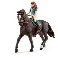 Schleich 42516 Hnedovláska Lisa a kôň Storm - Herná sada
