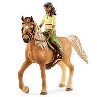 Schleich 42517 Čiernovláska Sarah a kôň Mystery - Herná sada