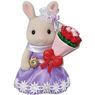 Sylvanian Families Mesto – králik s kvetinovými darmi