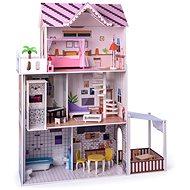 Woody Ružový domček s výťahom Malibu - Domček pre bábiky