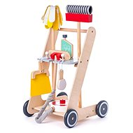 Woody Čistiaci vozík - Drevená hračka