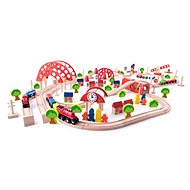 Woody Vláčiková dráha s hlavným nádražím - Vláčikodráha
