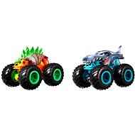 Auto Hot Wheels Monster trucks demolačné duo - Auto
