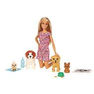 Barbie Starostlivosť o šteniatka - Bábika