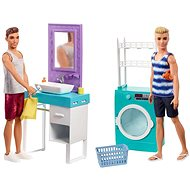 Barbie Ken s nábytkom - Bábika
