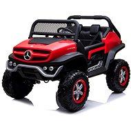 Mercedes Unimog červený - Detské elektrické auto