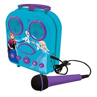 Lexibook Frozen Prenosné karaoke s mikrofónom - Hudobná hračka