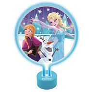 Lexibook Frozen Neónová lampa - Stolová lampa