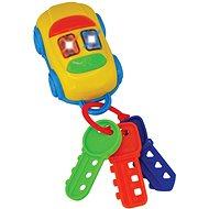 Kľúčiky autíčko - Didaktická hračka