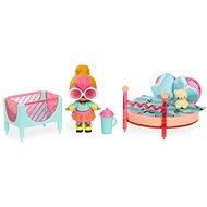 L.O.L. Nábytok s bábikou – Spálňa & Neon Q.T. - Doplnok pre bábiky