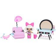 L.O.L. Nábytok s bábikou – Kadernícky salón a Diva - Doplnok pre bábiky