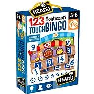 Montessori – Hmatové bingo - Spoločenská hra