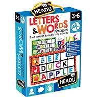 Montessori – Bingo – Písmená a slová - Spoločenská hra