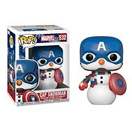 Funko POP Marvel: Holiday S2 – Capt America - Figúrka