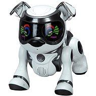 Cobi Teksta robotické šteňa ovládané hlasom - čierne - Interaktívna hračka