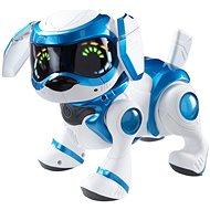 Cobi Teksta robotické šteňa ovládané hlasom - modré - Interaktívna hračka