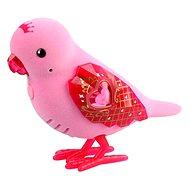 Little Live Pets Vtáčik 6 ružový - Interaktívna hračka