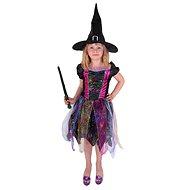 Rappa Čarodejnica farebná, veľ. S - Detský kostým