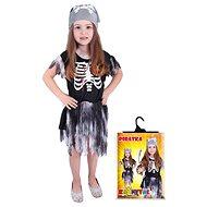 Rappa Pirátka skeletonka, veľ. S - Detský kostým
