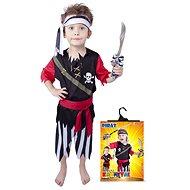 Rappa Pirát so šatkou veľ. S - Detský kostým