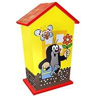 Rappa Wooden Money Box Little Mole - Cash Box