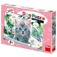 Dino Sivá mačička - Puzzle
