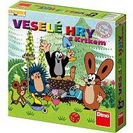 Dino Veselé Hry s Krtkom - Spoločenská hra